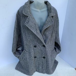 Vintage Herman Kay Wool Pea Coat